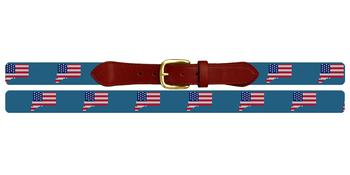 Connecticut State Needlepoint Belt
