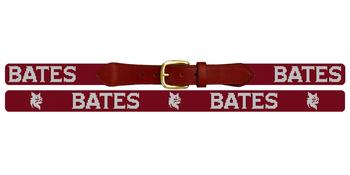 Bates College Needlepoint Belt