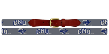 Christopher Newport University Needlepoint Belt
