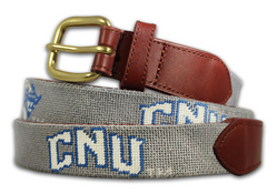 Christopher Newport University Needlepoint Belt