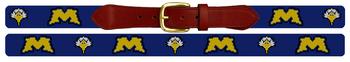 Morehead State University Needlepoint Belt