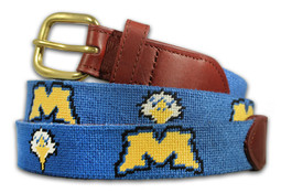 Morehead State University Eagles Needlepoint Belt