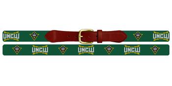 University of North Carolina Wilmington Needlepoint Belt