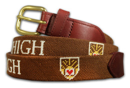 Lehigh University Needlepoint Belt