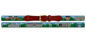 West Point Academy Campus Needlepoint Belt