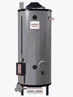Rheem G100-200 Water Heater - 100 Gallon Commercial Gas 200,000 BTU