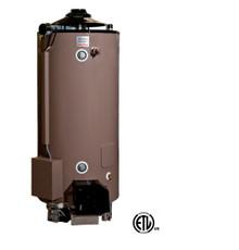 American Standard ULN 100-76 AS Water Heater - 100 Gallon Commercial Gas 76,000 BTU - 4 Year Warranty