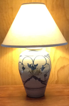 Lamp-Tzu Chu Pattern-Mem. Day Sale Special-FREE SHIPPING!-Harp is included but No Shade