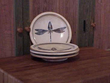 Side Plate-Blue Dragon Fly--ALL SOLD!
