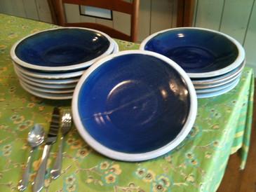 Dinner Plate-Navy Blue