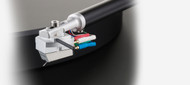 Clearaudio Concept Turntable with Concept MM cartridge.