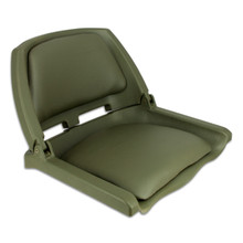 Traveler Fold Down Seat Green with Green Cushions