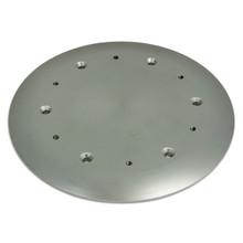 "Pedestal Mounting Deck Plate 12"""