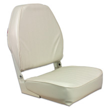 Fold Down HB Seat Off White