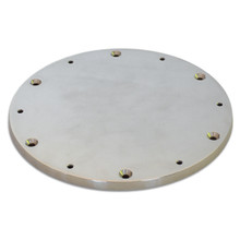 Pedestal Mounting Deck Plate Stainless Steel