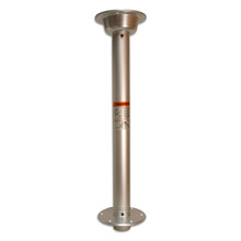 "Stowable 30"" Table Locking Pedestal Set Anodized"