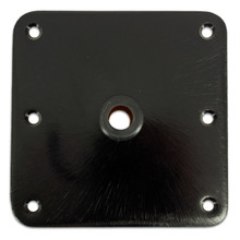 "Kingpin 7"" X 7"" Mild Steel Satin E-Coated Floor Base"
