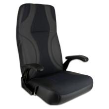 Norwegian Seat Black & Charcoal