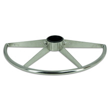 """Stainless Steel Footrest for 2-7/8"""" Post"""