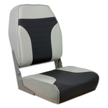 Fold Down Economy Coach HB Seat Gray & Charcoal