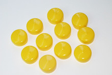 """1.25"""" Caps for Telescope Eyepieces, 10 Pack"""