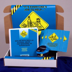 Drug and Alcohol Abuse for Managers and Supervisors in Construction Environments Construction Safety Kit