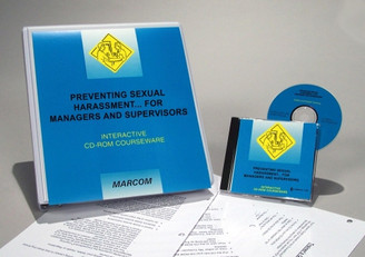 Preventing Sexual Harassment for Managers and Supervisors Interactive CD-ROM Course