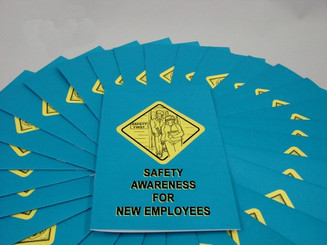 Safety Awareness for New Employees Employee Booklet (Pack of 15)
