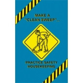 Safety Housekeeping & Accident Prevention Poster