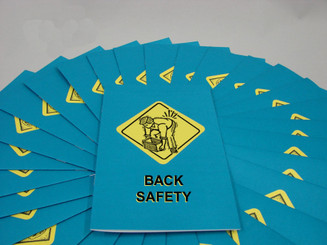 Back Safety Employee Booklet ( Pack of 15)