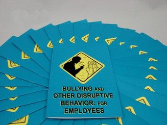 Bullying and Other Disruptive Behavior: for Employees Employee Booklet (Pack of 15)