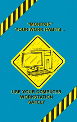 Computer Workstation Safety Poster