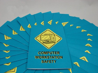 Computer Workstation Safety Employee Booklet (Pack of 15)