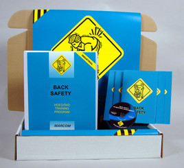 Back Safety in Industrial Environments Safety Meeting Kit