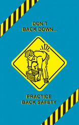 Back Safety Poster