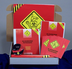 Bloodborne Pathogens in First Response Environments Regulatory Compliance Kit