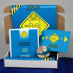 Evacuation Procedures Safety Meeting Kit