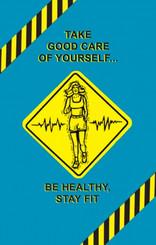 Fitness & Wellness Poster