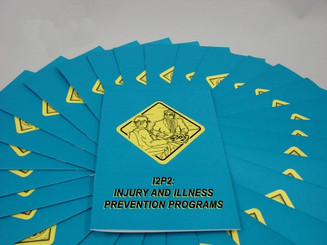 I2P2: Injury and Illness Prevention Programs Employee Booklet (Pack of 15)