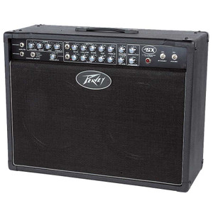 "<p>Brand new old stock. NO FOOTSWITCH</p> <div class=""details""> <p class=""overviewSubHeading"">Massive all-tube power!</p> <p class=""description"">The all-tube Peavey JSX 212 Joe Satriani combo amp is the fruit of a partnership between Peavey and legendary guitar virtuoso Satriani. The JSX 212 translates the tonal flexibility and responsive gain of the Peavey JSX Joe Satriani Signature amp head into a modern combo amp. <br /><br />Augmenting the original JSX amp's 3-channel, 120W configuration are 2 custom-designed 12"" JSX speakers in an open-back cabinet, reverb with master control, and a line out with level control. The Joe Satriani Peavey combo amp also includes global presence and resonance controls; 3-band EQ and level on each channel; FAT switches, and fully adjustable noise gates for the Ultra and Crunch channels.<br /><br />""We designed the JSX 212 not only for practicality, but also for tone and versatility,"" says Satriani. ""The amp's tone comes to life in a big way using this 2x12 design, and the relationship between the combo and the player sets up an interesting interplay that you can't get with a head. It's a special experience having the amp and speakers in one unit.""<br /><br />Made in the USA.</p> </div> <div id=""featuresContainer""> <div class=""specs""> <div class=""featuresHeading"">FEATURES</div> <ul> <li>120W</li> <li>Half-power switch</li> <li>3 footswitchable channels</li> <li>2 JSX 12"" speakers</li> <li>4 - EL34 tubes and 4 - 12AX7 tubes</li> <li>Power amp switchable to use 6L6GCs</li> <li>Clean channel: volume, bass mid, treble</li> <li>Crunch channel: gain and volume, bass, mid, treble EQ, and FAT switch</li> <li>Ultra channel: gain and volume, bass, mid, treble EQ, and FAT switch</li> <li>Noise gate control for both distortion channels</li> <li>Master volume</li> <li>Master reverb</li> <li>Footswitchable effects loop</li> <li>Resonance and presence controls</li> <li>Line out with level control</li> </ul> </div> </div>"