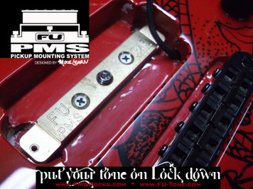 "<p><span>*</span><span>NEW</span><span>* FU-Tone and Mike Learn are pleased to bring you the new PMS (Pickup Mounting System)! The PMS mounts directly into your pickup cavity giving your pick up a direct mounting platform of our famous FU Bell Brass. The increased resonance form the body to the brass to your pickup will add more warmth and sustain.</span><br /><br /><span>Guitar pickups do not just ""listen"" to the strings in motion above, they feed off the vibrations happening all around them. Poorly mounted pickups can actually cancel some frequencies. Mount pickups directly into the wood of the guitar, and you get improved tonal response. Add a piece of tone resonate material like the new PMS by FU and the results are even more intense.</span><br /><br /><span>The PMS solution is designed to elicit the maximum performance from your pickup. When properly installed, this patented system amplifies the wood's natural resonant frequencies, energizes the tone of your guitar and optimizes the sonic range of your pickup.</span><br /><br /><span>NOTE: The PMS kit supplies several different screw lengths to allow for</span><br /><span>mounting to any guitar set up.</span></p> <p><a href=""http://www.fu-tone.com/catalog/images/PMS_Promo_03-800.jpg""><img src=""http://www.fu-tone.com/catalog/images/PMS_Promo_03-440.jpg"" alt="""" /></a></p> <p><a href=""http://www.fu-tone.com/catalog/images/PMS_Promo_02-800.jpg""><img src=""http://www.fu-tone.com/catalog/images/PMS_Promo_02-440.jpg"" alt="""" /></a></p> <p><iframe src=""https://www.youtube.com/embed/TwCeMbB6LYY?rel=0"" width=""440"" height=""248"" frameborder=""0""></iframe></p>"
