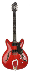 """<div class=""""box-collateral box-description product-overview col-md-9""""> <div class=""""std prod-description""""> <p>The Hagstrom Viking Wild Cherry Transparent electric guitar is part of the Vintage Series of guitars. Vikings took no prisoners and neither will this versatile and elegant guitar. The Hagstrom Viking is the great all-rounder. It covers all genres, from blues to rock/fusion, jazz - and back. The Hagstrom Viking electric guitar features a contoured Ply Maple top. The guitar's set neck is topped with a resonator wood fingerboard. The neck also features Hagstrom's patented H-Expander truss rod. This provides tension at either end and runs the entire length of the neck. It allows for a very low action and a thin neck, two of the factors that gain Hagstrom it's reputation for the world's fastest playing guitars!</p> <p>PRODUCT DETAILS</p> </div> </div> <div class=""""box-collateral box-additional product-overview product-details col-md-3""""> <ul> <li>MODEL:<span>Hagstrom Viking Wild Cherry Transparent</span></li> <li>PRODUCT CODE:<span>49VIKWCT</span></li> <li>BODY:<span>Contoured Ply Maple</span></li> <li>NECK:<span>Canadian Hard Maple, set</span></li> <li>FINGERBOARD:<span>Resinator Wood with Hagstrom 6mm Dot Position Marks</span></li> <li>TRUSS ROD:<span>H-Expander</span></li> <li>TUNING KEYS:<span>Hagstrom 18</span>1 DIE CAST:</li> <li>SCALE LENGTH:<span>24,75"""" / 628 mm</span></li> <li>PICKUPS:<span>2 x Hagstrom HJ-50</span></li> <li>PICKUP SELECTOR:<span>3-Way Toggle</span></li> <li>BRIDGE:<span>Long Travel Tune-O-Matic w/ Hagstrom Trapeze Tail Piece</span></li> <li>CONTROLS:<span>2 x Volume / 2 x Tone</span></li> </ul> </div>"""