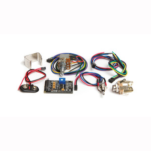 "<p>The <strong>PK-0240-00</strong> is the advanced Ghost Acousti-Phonic preamp kit for guitar.  It includes all the basic components you need (except pickups) to add realistic acoustic tone to your electric guitar and adds in the QuickSwitch and Mid/Dark Volume pot.</p> <p><img title=""GhostLogoSmall"" src=""http://www.graphtech.com/images/home-banners/ghostlogosmall.jpg?sfvrsn=0.6675390962600941"" alt="""" /></p> <p>The <strong>PK-0240-00</strong> is the advanced Ghost Acousti-Phonic preamp kit for guitar.  It includes all the basic components you need (except pickups) to add realistic acoustic tone to your electric guitar and adds in the QuickSwitch and Mid/Dark Volume pot.</p> <p><span>The </span><strong>Acousti-Phonic Kit for Guitar</strong><span> includes:</span></p> <div><span>PD-0240-00 Acousti-Phonic Intelligent preamp EQ'd for guitar</span></div> <div><span>PD-0103-01 Switchcraft Stereo Switched Output Jack</span></div> <div><span>PE-5003-00 Stereo Output Jack Cable Assembly</span></div> <div><span>PE-5002-00 Acoustic Volume Cable Assembly</span></div> <div><span>PE-0204-00 Battery Connecter (connects 9v to preamp)</span></div> <div><span>PE-0205-00 Battery Holder (metal clip that holds 9V battery)</span></div> <div><span>PE-0111-00 QuickSwitch for mag/both/acoustic</span></div> <div><span>PE-0206-00 Acoustic Volume Pot with Mid/Dark Switch </span></div> <div><span>PE-5017-00 Summing Board (not pictured)<br /></span></div> <div><span>PE-5021-00 Dual Connector Cable (not pictured)</span></div>"