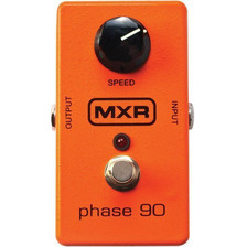 <p><span>For more than four decades, the MXR Phase 90 has been a mainstay on the pedal boards of millions of players around the globe. This little orange box went on to become the sole icon of its effect category, and countless legendary riffs have benefitted from the sonic qualities of this pedal. No matter the genre or instrument, the Phase 90 has been there through it all to add its distinctly lush voice to a musician's tone palette. With the twist of the Rate knob, you can take the Phase 90's warm modulation from subtle, spatial shimmer to all-out high velocity swooshing.</span></p>