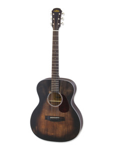 "<div class=""heading""> <div class=""h2-title""> <h2>ARIA-101DP Delta Player Orchestra Acoustic Guitar, Muddy Brown</h2> Details</div> </div> <div class=""short-description"">The ARIA-101DP Orchestra Acoustic Guitar is part of ARIA's Delta Player range. Dedicated to the Delta Blues era, the ARIA DP range brings you authentic vintage feel and tone with high-quality craftsmanship. The unique 'Muddy Brown' finish makes for a truly beautiful guitar. Featuring a spruce top with sapele back and sides, and a comfortable mahogany neck, the ARIA-101DP delivers rich and pure solid tone with astonishing playability. The vintage design is completed by the vintage-style open gear machine heads mounted to the traditional headstock aesthetic.</div> <div class=""short-description""> </div> <div class=""short-description""> <h3>Orchestra Body Shape</h3> <p>The Orchestra acoustic body shape, also known as Concert and Auditorium, is almost a halfway house inbetween smaller bodied guitars such as Parlours, and the larger Dreadnought style. Utilising a classic hourglass-type design, these guitars sit comfortably on the guitarist's knee and are incredibly popular with musicians who play folk or many forms of fingerstyle music. It's shape provides a perfect balance between playability and comfort, and has been the go to shape for many artists and performers. Despite its popularity with fingerstyle players, it is also perfectly suited to heavy strumming when required thanks to the larger and wider base of the body.</p> <h2>Specifications</h2> <h3>Body & Bridge</h3> <ul> <li><strong>Body Top:</strong> Spruce</li> <li><strong>Body Back & Sides:</strong> Sapele</li> <li><strong>Body Type:</strong> Orchestra</li> <li><strong>Finish:</strong> MUBR (Muddy Brown)</li> <li><strong>Bridge:</strong> Rosewood</li> </ul> <h3>Neck & Fingerboard</h3> <ul> <li><strong>Neck:</strong> Mahogany</li> <li><strong>Fretboard:</strong> Rosewood</li> <li><strong>Frets:</strong> 20</li> <li><strong>Inlays:</strong> Dot</li> <li><strong>Scale Length:</strong> 650mm / 25.6''</li> <li><strong>Nut Width:</strong> 43mm</li> </ul> <h3>Hardware</h3> <ul> <li><strong>Machine Heads:</strong> Vintage Open Gear</li> <li><strong>Bridge Pins:</strong> Black With White Dot</li> <li><strong>Hardware:</strong> Chrome</li> </ul> </div>"