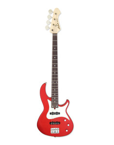 """<p>Aria RSB-1000 CA Electric Bass Guitar</p> <h1 class=""""product_title entry-title"""">RSB-1000</h1> <div></div> <div> <h6><span>Made in Japan</span></h6> <p>Body: Basswood<br />Neck: Maple 1P, Bolt-On<br />Fingerboard: Rosewood<br />Frets: 24F<br />Scale: 864mm<br />Nut width: 40mm<br />Pickups: AJJ-1 x 2<br />Controls: Volume, Balancer, Tone<br />Machineheads: GOTOH GB1<br />Bridge: GOTOH 203B-4<br />Hardware: Chrome<br />Finish: CA (Candy Apple Red)</p> <h2>Product Description</h2> <p>Handcrafted in Japan with genuine craftsmanship.<br />Very stylish body generate a perfect body balance in live playing.<br />24 frets rosewood fingerboard with deep cutaway at 1st string side create unbeatable playability in higher fret positions.</p> </div>"""