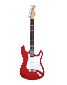 <p>Aria STG electric, Candy Apple Red</p>