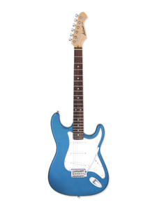 <div>High quality guitars for everyone. That is Aria's credo over 60 years of its history.</div> <div>STG-Series really stand for it, with simple but rich specs at marvelous value.</div> <div>Your sound is already there!</div> <div></div> <div><span>Body: Basswood</span><br /><span>Neck: Maple, Bolt-on</span><br /><span>Fingerboard: Rosewood</span><br /><span>Number of Frets: 22</span><br /><span>Scale Length: 648mm (25-1/2 inches)</span><br /><span>Pickups: OS-1 Single Coil x3</span><br /><span>Controls: Volume x 1, Tone x 2, PU Selector, Switch x 1</span><br /><span>Tailpiece: VFT-1 Tremolo</span><br /><span>Hardware: Chrome</span></div>