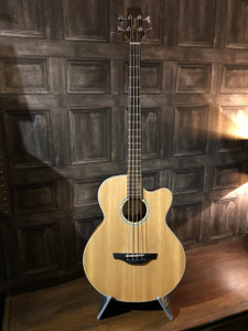 """<p>Fantastic Takamine EG512C Electro Acoustic Bass made in Korea in fantastic condition with no bumps or knocks that we can spot and only the lightest of playwear. Comes with a Tanglewood/SKB hard case worth £140 too!</p> <p>As with all used instruments the pictures form part of the description so please study them carefully.</p> <p></p> <p><span>The super jumbo Takamine EG512C Acoustic-Electric Bass produces a lot of volume with super clarity and a tightly focused sound. Topped with spruce and built with mahogany back and sides, the Takamine EG512C Bass has a 22-fret maple neck with rosewood fretboard (34"""" scale), rosewood bridge, Takamine TK-4NB preamp, and chrome tuning machines. The cutaway bass guitar design offers total neck access.</span></p> <p class=""""related-similar"""">TAKAMINE EG512C FEATURES:</p> <ul> <li>Spruce top</li> <li>Mahogany back and sides</li> <li>22-fret maple neck with rosewood fretboard (34"""" scale)</li> <li>Rosewood bridge</li> <li>TK-4NB preamp</li> <li>Chrome tuning machines</li> </ul>"""