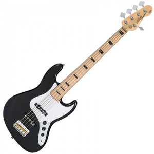 <p><span>With its gorgeous 5-string maple neck and fingerboard with chunky black block inlays the VJ75M also features Wilkinson hardware, including two full-toned, crisp and clear bass pickups, that give the player wonderful tonal variations and awesome playability.</span></p>